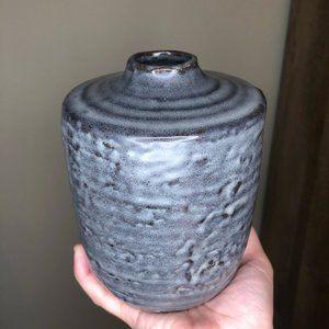 🔥NWOT Anthropologie Blue & Grey Bud Vase